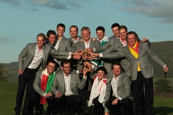 El BBC Awards para el equipo europeo de la Ryder Cup