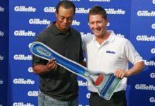 Tiger Woods dejará de afeitarse con Gillette