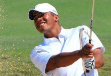 El venezolano Jhonattan Vegas podría batir records de Tiger Woods