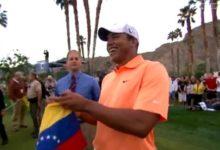 Jhonattan Vegas, primer venezolano en ganar en el PGA Tour