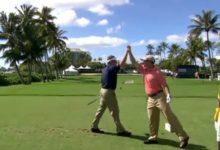 VIDEO: Hoyo en uno de Shaun Micheel, ayer durante la segunda ronda del Sony Open