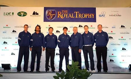 Arranca el Royal Trophy con Pablo Martín y Matteo Manassero formando pareja