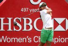 Azahara Muñoz mejora en el HSBC Women's Championship