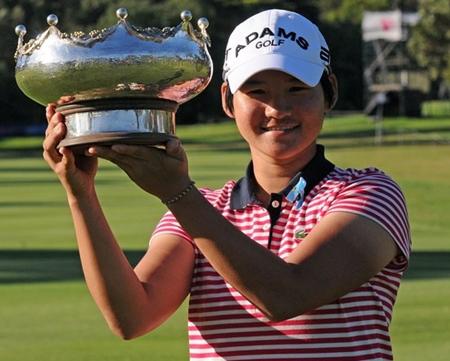 El torneo de apertura del Circuito Femenino para Yani Tseng