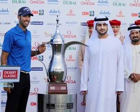Álvaro Quirós consigue en Dubai su quinto título en el Circuito Europeo