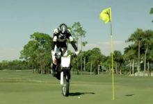 Moto-Golf, el nuevo vídeo de Rickie Fowler y Puma