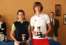 Eva Valiente y Mario Beltrán, Campeones Junior de la CV