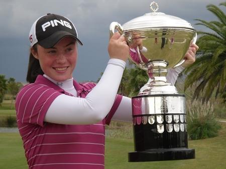 La irlandesa Lisa Maguire consigue el título en la Copa S. M. La Reina 2011