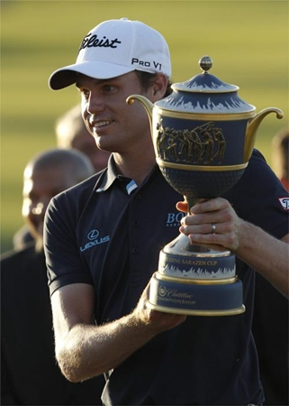 El estadounidense Nick Watney fue el campeón de la FedEx Cup de 2011