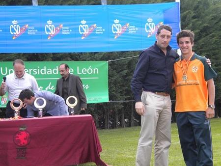 El valenciano José Bondía, Campeón de España Universitario
