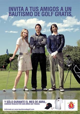 www.bautismodegolf.com, la campaña de promoción golfística más grande de la historia en España