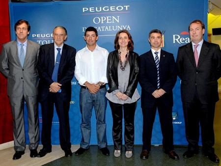 Apoyo incondicional de la Generalitat al Peugeot Open de Catalunya