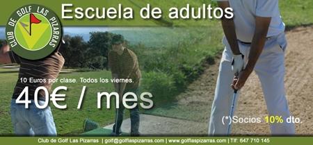 Apertura de la nueva escuela de Golf en Plasencia