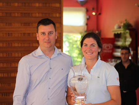 Teresa Caballer, tercera en el Campeonato Femenino de la Comunidad Valenciana