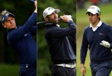 Quirós toma el mando en el BMW PGA Championship y Lara es cuarto