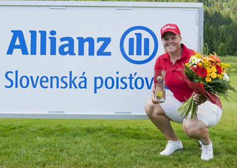 Primera victoria de Caroline Hedwall en Europa