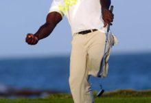 """Manuel de los Santos en el Iberdrola Open,  """"El golf me ha devuelto la ilusión de vivir"""""""