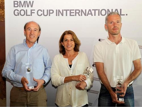 BMW Cano Catalunya a toda velocidad en el Real Club de Golf El Prat
