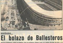 Fernández-Castaño intentará emular a Seve en el Bernabéu