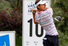 Andrea Pavan se dispara en el Kärnten Open y Jordi García a un golpe del Top Ten