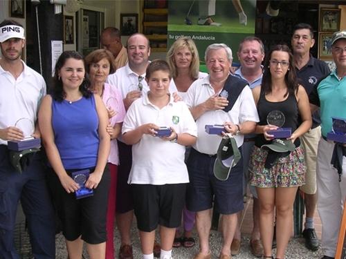 Ganadores de la 7ª  Prueba del VI Circuito 2×9 Costa del Sol