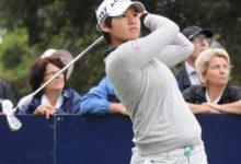 Azahara Muñoz arranca a cuatro golpes de Yani Tseng en el torneo Wegmans