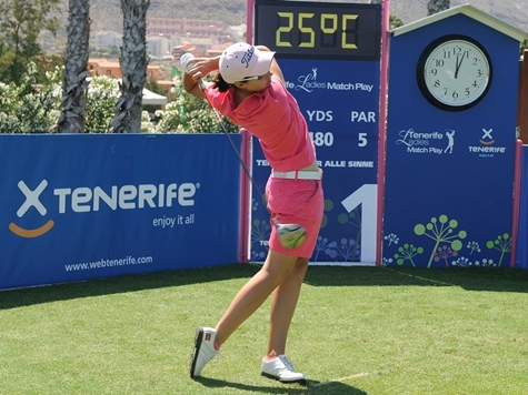 Karen Lunn destaca en el Tenerife Ladies Match Play