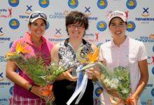 Carlota Ciganda, segunda en Tenerife en su debut como profesional