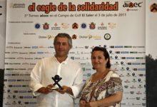 """Gran éxito del 5º Torneo """"El Eagle de la Solidaridad"""" de la Fundación aixec"""