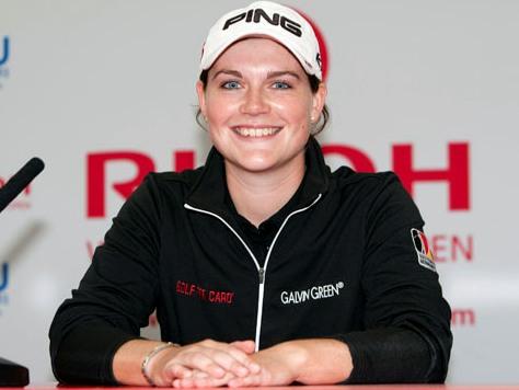 Caroline Masson saldrá con dos golpes de ventaja en el Abierto Británico