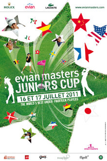 El Evian Masters Junior Cup, nueva cita de prestigio para el golf juvenil español