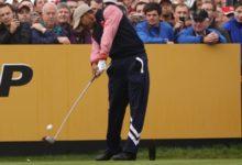 Tiger Woods no estará en el Abierto Británico