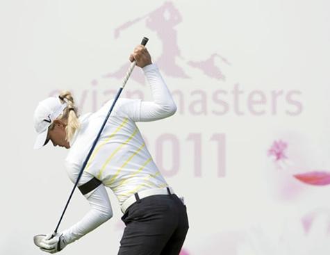 Miyazato lidera el Evian Masters a falta de la ronda final