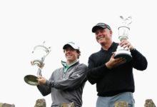 Los ganadores de los tres grandes del año emparejados en el PGA