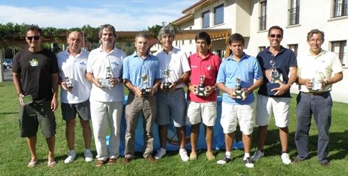 Manuel Carballal y Luis Boado Campeones de Galicia de Dobles