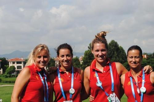 El combinado femenino ocupa la segunda posición en la Universiada 2011