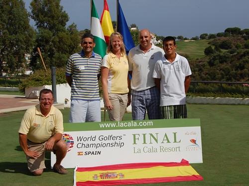 Seleccionado el equipo que representará a España en la final del Campeonato del Mundo de Golf Amateur