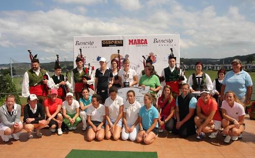 El Banesto Tour celebra la quinta prueba en Golf Isla Valdecañas