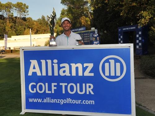 Agus Domingo vence en la Gran Final del Allianz Golf Tour