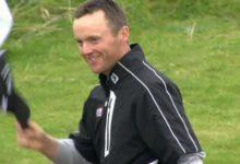 Michael Hoey líder destacado en el Alfred Dunhill Links Championship