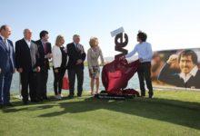 Sentido homenaje a Severiano Ballesteros en El Encín Golf