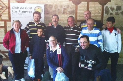 El Club de Golf Las Pizarras despidió la temporada 2011
