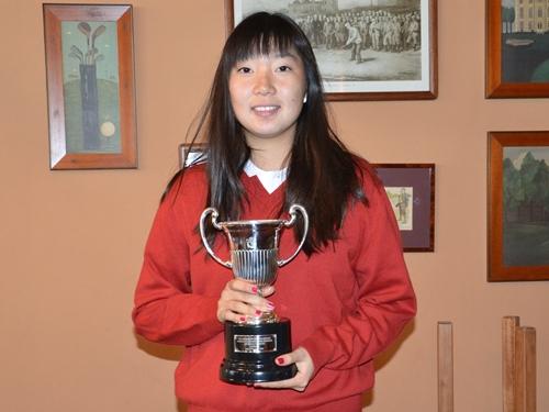 Harang Lee obtiene en Alicante Golf la primera gran victoria del año
