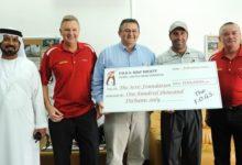 La FOGS Golf Society dona 20.000 € a la Fundación Seve Ballesteros