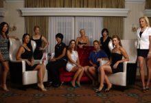 Beatriz Recari (en el centro) campeona de 'glamour' entre golfistas