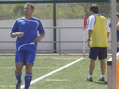 Sergio Garcia marcó su primer gol con el Borriol