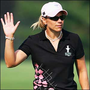 Annika Sorenstam ha dicho no a la capitanía de la Solheim Cup 2013