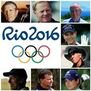 De izq. a dcha. Player, Nicklaus, Robert T.Jones jr., Sorenstam, Norman, Ochoa, Hanse y Doak