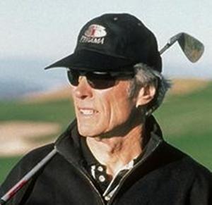 Clint Eastwood es un apasionado del golf