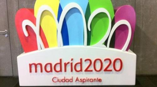 Logotipo de la candidatura de Madrid 2020